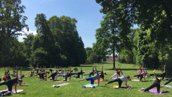 Yoga Im Schlosspark Yoga Wiesbadenyoga Wiesbaden